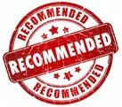 рекомендовано